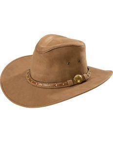 Bullhide Sydney Top Grain Leather Western Hat Bullhide Hats a3dc32f0cf78