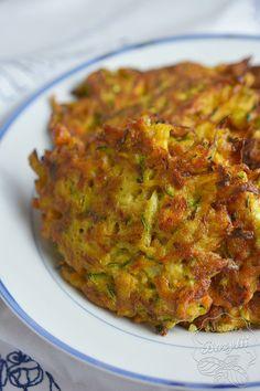 Warzywne placki z cukinii, marchewki i ziemniaków - przepis - sprawdź!