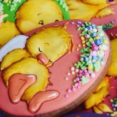 Fancy Cookies, Iced Cookies, Easter Cookies, Royal Icing Cookies, Easter Treats, Holiday Cookies, Cake Cookies, Easter Biscuits, Cupcakes