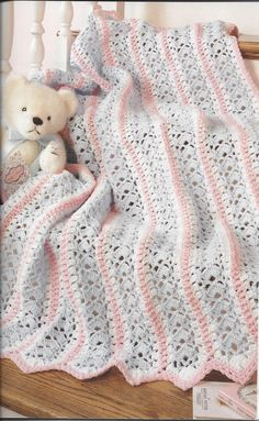 Learn To Make Mile-A-Minute Baby Afghans by KnitKnacksCreations