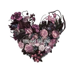 """""""You Are The One"""" My original painting. Same design available on variety of products! #heart #eestidisain #eestikunst #baroque #hipster #hipsterfashion #perfectmatch #valentinegift #society6 #redbubble #valentines #tshirt #mug #tote #phonecase #laptopsleeve #curioos #artprint #couple #accessories #love #romantic  #wallart  #design #homedecor #interiordecor #wallartprint #LiisRoden #painting #vintage"""