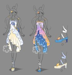 Custom Star Dress by Nahemii-san.deviantart.com on @DeviantArt