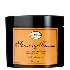 lemon shaving cream / art of shaving