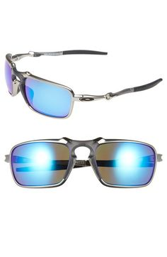 Oakley 'Badman' 60mm Polarized Sunglasses