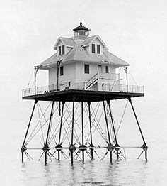 Lighthouse - Rebecca Shoal Lighthouse, Florida, USA