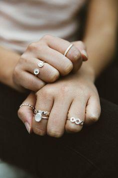 Astley Clarke Silver Rings