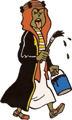 Abdallah  Emir Ben Kalish Ezabs søn og en rigtig ballademager. Både under sit første møde med Tintin og Haddock og ved efterfølgende lejligheder har de to store problemer med at håndtere den lille vildbasse.