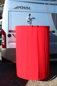 Camper Van, Gadgets, Organization, Home Decor, Camp Shower, Cool Inventions, Showers, Privacy Screens, Travel Trailers