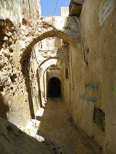 a very old part of the Medina - Tripoli, Libya