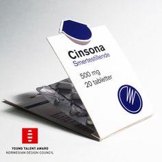 Cinsona - medicine packaging on Behance
