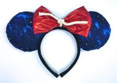 Sorcerer Mickey Mouse Inspired Ears Handmade by WisheryEarMakers #sorcerermickey #fantasia #sorcerersapprentice #fantasmic #disneyshollywoodstudios #disney
