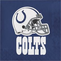 NFL 2 Ply Lunch Napkins Indianapolis Colts/Case of 192 Tags: Indianapolis Colts; Lunch Napkins; NFL Tableware; Indianapolis Colts party;Indianapolis Colts party tableware;Indianapolis Colts Lunch Napkins; https://www.ktsupply.com/products/32786326230/NFL-2-Ply-Lunch-Napkins-Indianapolis-ColtsCase-of-192.html