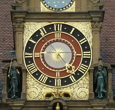 Astronomical clock, Heilbronn Rathaus, 1540.