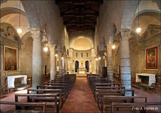 Stia - the romanesque parish church of S. Mary of incredible beauty