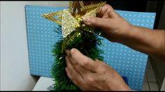 Como fazer uma árvore de natal, rápida, bonita e barata