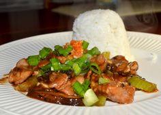 Sichuan Stir-Fried Pork in Garlic Sauce