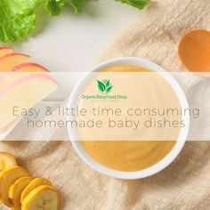 Bon Appetit, baby! Try our favorite homemade baby dishes!😍 #homemadebabyfood #organicbaby #babyfoodideas