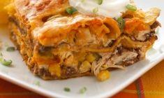 chicken enchilada caserole