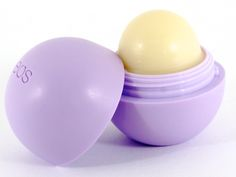 EOS lip balm. RED: best taste PURPLE: best scent MINT GREEN: best feeling on the lips PINK: idk people say it smells the best, but I like the purple one better YELLOW: straight up lemon. I would not say these are the best when it comes to moisturizing the lips though.