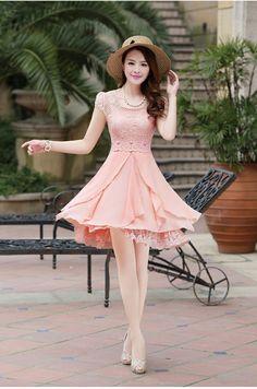 c8f8c58d2974f81d5fcc7ce7aa611621--lace-chiffon-dress-lace.jpg (736×1111)