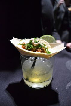 Margarita shot and mini taco - MStreet Catering and Events, Nashville, TN