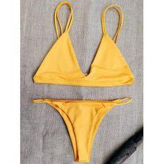 GET $50 NOW | Join Dresslily: Get YOUR $50 NOW!http://m.dresslily.com/solid-color-unlined-spaghetti-straps-bikini-set-product1969393.html?seid=KO25M27vUCj09d8S7A2lpbh23G