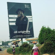 Finally a traffic jam so I can snap the @adidas ad!  #accra #adidas #advertising #ghana #poster #blackisbeautiful #blackmodel #instastyle #instacool #africa #holidays #apif #apifrocks by africanprintsinfashion