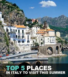 5 Best Places To Visit In Italy Ravello Amalfi