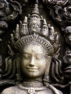 Apsara Smile, Angkor Wat, Siem Reap, Cambodia