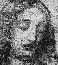 Artist Of The Week: Keita Sagaki - An Artist Who Doodles In Drawings