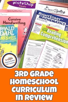 3rd Grade Homeschool Curriculum in Review - peanut butter fish lessons