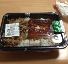 Twitter / horii0707: 夜ご飯なうなう すき家のうな重?うなぎ+牛丼のやつなんだけど ...
