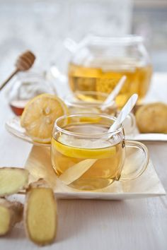 Ginger Lemon-Aide Recipe - Health and Wellness - Mother Earth Living