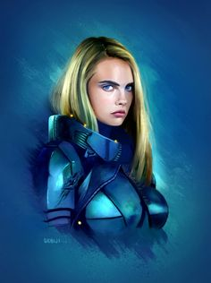 Valerian and the city of a thousand planets by Sebiji.deviantart.com on @DeviantArt