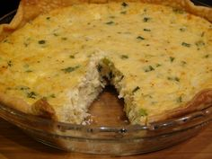 INCREDIBLY ADDICTIVE CRAB PIE with Pillsbury pie crust | She's Got Flavor