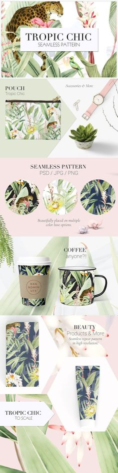 Tropic Chic #02 by TSTUDIO on @creativemarket