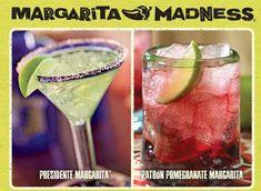 Chili's Margarita Recipes: Chili's Patron Pomegranate Margarita Recipe