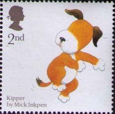 ♥ ◙ UK, Kipper Postage Stamp. ◙