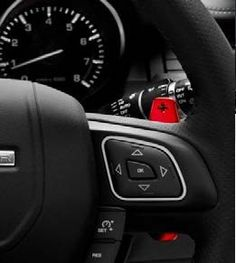 Red Anodised Aluminium Paddle Shifter - VPLVS0187CAY Enhance the appearance of your vehicle's interior with a vibrant red anodised paddle shifter.  Made from forged aluminium.  Anodised finish ensures exceptional wear resistance on the polished finish.