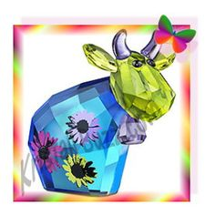 Swarovski Flower Power Mo, another Limited Edition Cow for Crystal Fanatics! » Kristall Buzz... Swarovski Crystal News Blog by Crystal Exchange