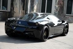 Gorgeous Black Ferrari 458!!