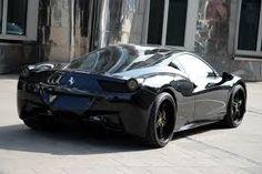 Gorgeous Black Ferrari 458!!