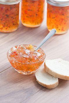 Peach Jalapeno Pepper Jelly   www.pickytoplenty.com