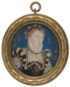 Queen Elizabeth I - Nicholas Hilliard