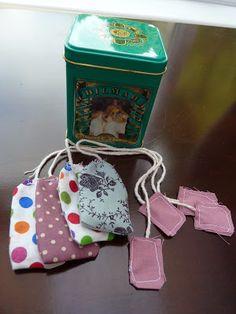 Callis Crossing: DIY Fabric Tea Bags