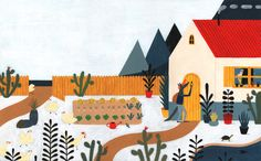 Feroz, el lobo. Text: Margarita Del Mazo. Ed: OQO. 2014  http://leiresalaberria.prosite.com/188855/3245483/portfolio/feroz-el-lobo-(new)