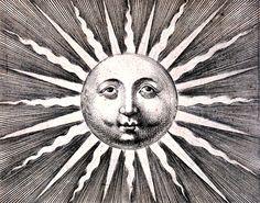 Vintage Sun Print