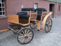 Wunderschön restaurierter Deutscher Jagdwagen