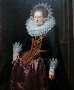 Portrait de femme Jan van Ravesteyn Lille 3118 - Jan Antonisz. van Ravesteyn - Wikipedia