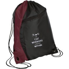 The Cat Whiskers Come From Within - Dan and Phil Colorblock Cinch Pack